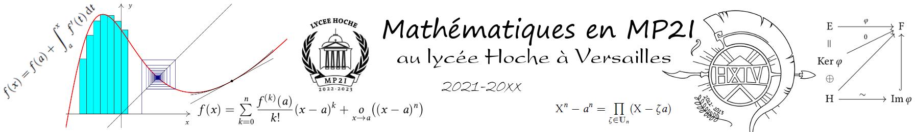 Mathématiques en MP2I au lycée Hoche